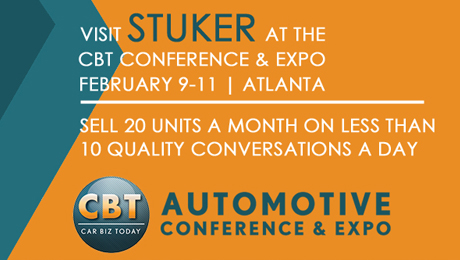 Tom Stuker to Speak about Selling Strategies at CBT Automotive Conference & Expo