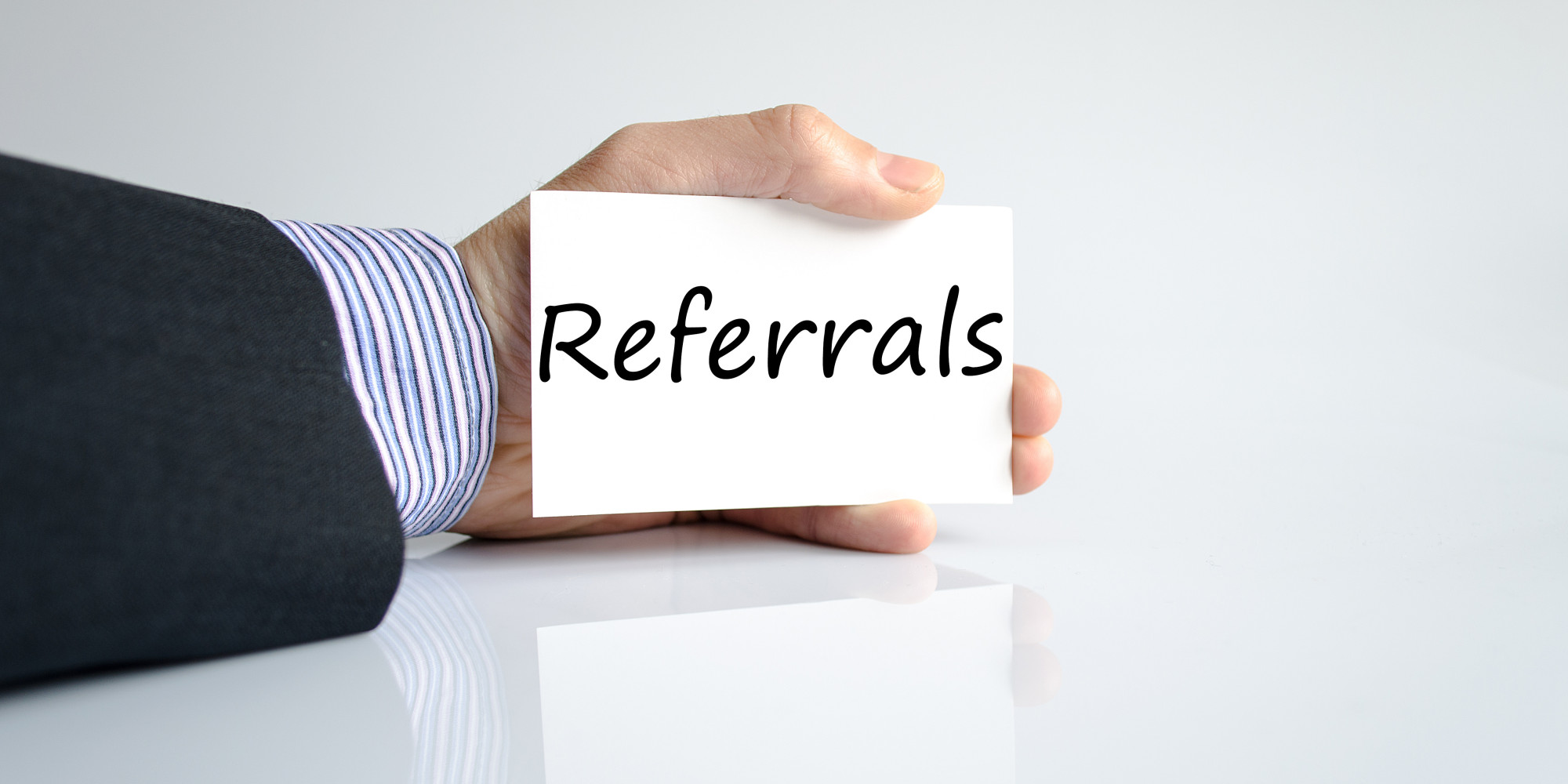 Referrals, referrals, referrals…. sell more cars by asking for referrals.